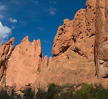 Garden of the Gods by Mary  Lane