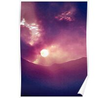 Somber Sundown Poster