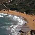 The beach by Christian  Zammit