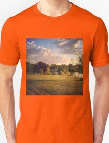 Golden Light over the Land Unisex T-Shirt