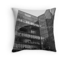 seeing through reflections Throw Pillow