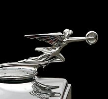 "1932 Packard 900 Light Eight Four Door Sedan ""The Goddess Of Speed"" Hood Ornament by TeeMack"