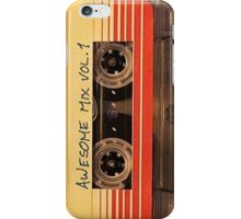 Awesome Mixtape Volume 1 - Guardians of the Galaxy iPhone Case/Skin