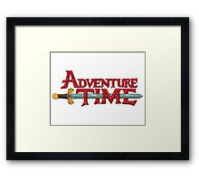 Adventure Time T-Shirt Framed Print