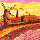 202 - HODGSON'S MILL, BLYTH (3rd Version) - (COLOURED PENCILS) - 2008 by BLYTHART