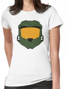 Master chief minimalist Womens Fitted T-Shirt