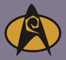Star Trek TNG Engineering Insignia Kids Clothes