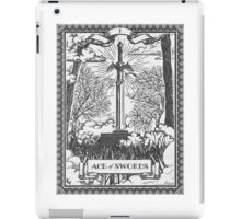 Vintage Legend of Zelda Master Sword Tarot iPad Case/Skin