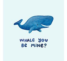 Whale You Be Mine? Photographic Print