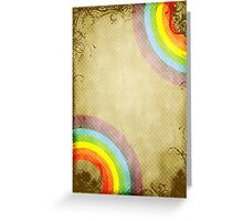 Halftone grunge background Greeting Card
