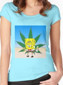 Bob Sponweed Women's Fitted Scoop T-Shirt