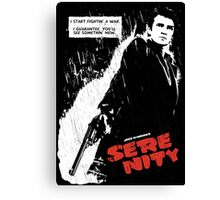 Sin Serenity Canvas Print