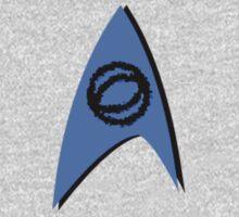 Star Trek TOS/AOS Science Insignia One Piece - Long Sleeve