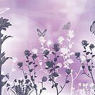 Butterflies in the Garden by Kimberly Palmer