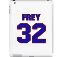 National football player Isaiah Frey jersey 32 iPad Case/Skin