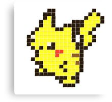 post it pikachu Canvas Print