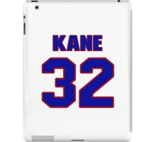 National football player Rick Kane jersey 32 iPad Case/Skin