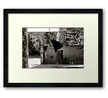 Marking His Territory Framed Print