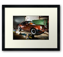 flashing here and there Framed Print
