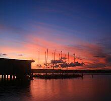 Long Jetty Sunset by Chris Wheat