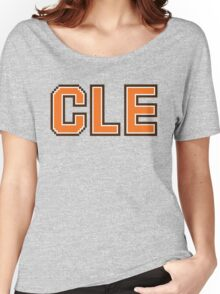 Retro 80s CLE Women's Relaxed Fit T-Shirt