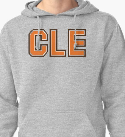 Retro 80s CLE Pullover Hoodie