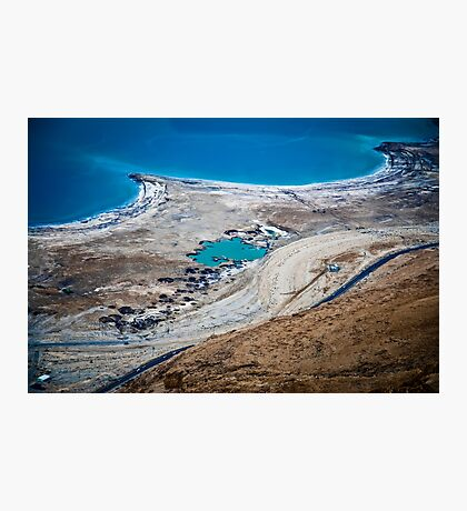 Israel, Dead Sea landscape view Photographic Print