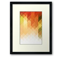 Three Way Retro Framed Print
