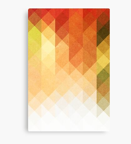 Three Way Retro Canvas Print