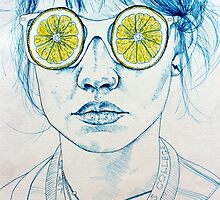 Lemon Lady by Kate Powell