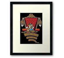 King of All the Land Framed Print