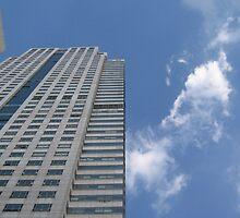 Blue sky in Bangkok by Kimann