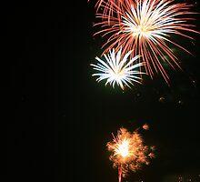 Australia Day Fireworks by Chris Wheat