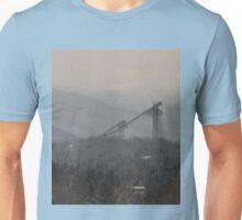 Lake Placid Olympic Ski Jump Panorama Unisex T-Shirt