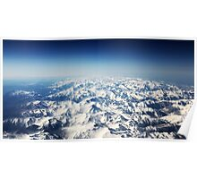 Snow Mountains Poster