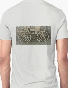 The Horse Drawn Carriage Unisex T-Shirt