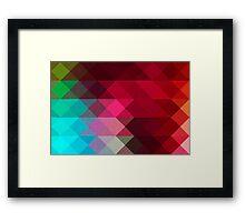 Three Way Retro Framed Print