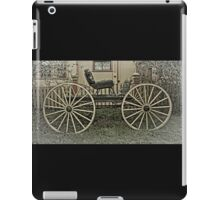 The Horse Drawn Carriage iPad Case/Skin