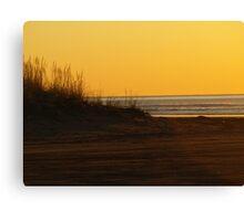 Pacific Ocean Sunset Canvas Print
