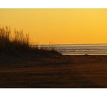 Pacific Ocean Sunset Photographic Print