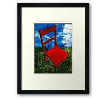 Reserved Framed Print