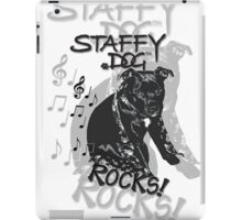 Staffy Dog Rocks! iPad Case/Skin