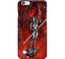 Robot Angel Painting 007 iPhone Case/Skin