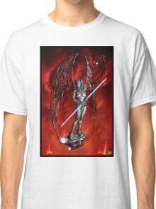 Robot Angel Painting 007 Classic T-Shirt