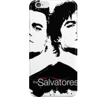 the salvatore brothers iPhone Case/Skin
