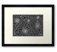 Joorr - (snake) monsoon season Framed Print