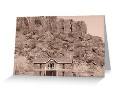 Fort Davis Greeting Card