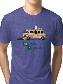 Breaking Peanuts Tri-blend T-Shirt
