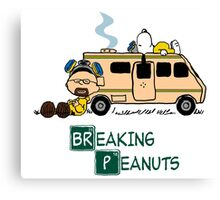 Breaking Peanuts Canvas Print