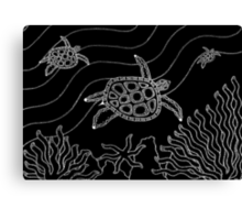 Goorlil - (turtle) monsoon season Canvas Print